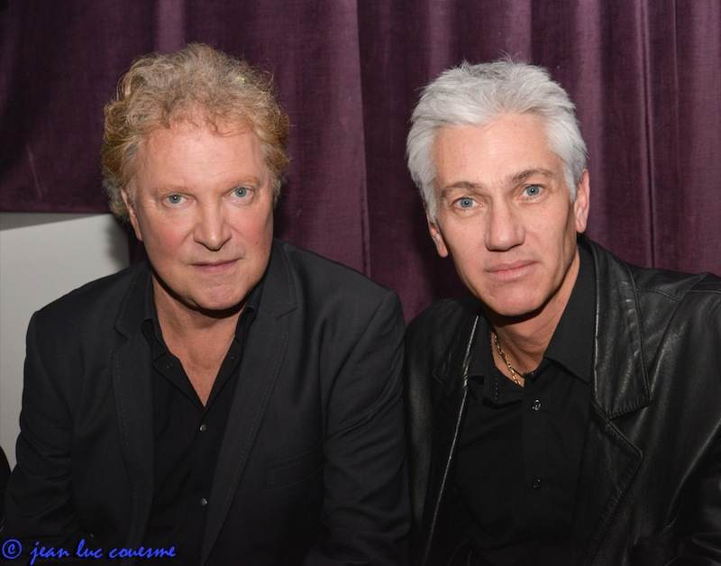 Photo de Fabrice Michel et Jean-Jacques Lafon au Palais des Congrès en 2012